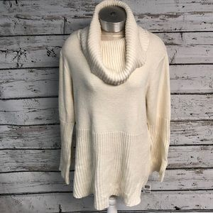 NWT Style & Co Cowel Neck Sweater With Bell Sleeve